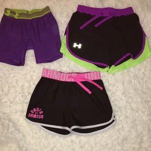 5/$10 3 piece Under Armour shorts